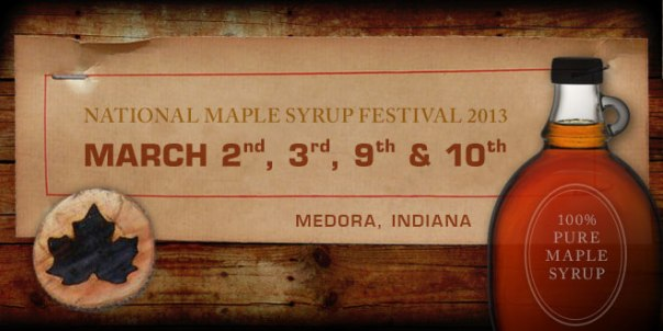 maple syrup festival banner