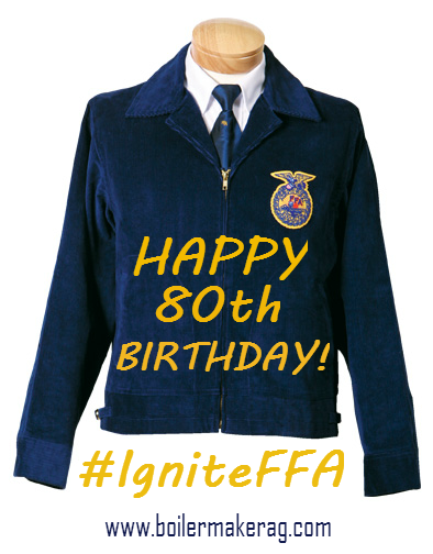 Celebrating 80 Years Of The FFA Jacket