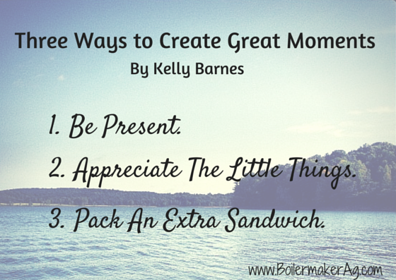 Three Ways to Create Great Moments
