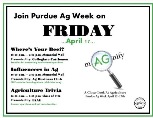 Purdue Ag Week - Friday