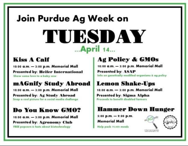 Purdue Ag Week - Tuesday